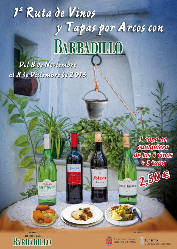 Cartel Ruta de vinos